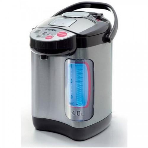 Чайник-термос Vitek VT-1188, 4,0 л, 750 Вт, металлик
