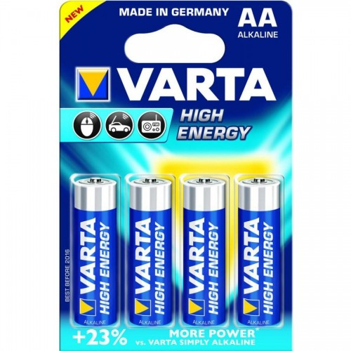 Батарейки Varta High Energy Mignon AA/LR6, 4 шт/уп