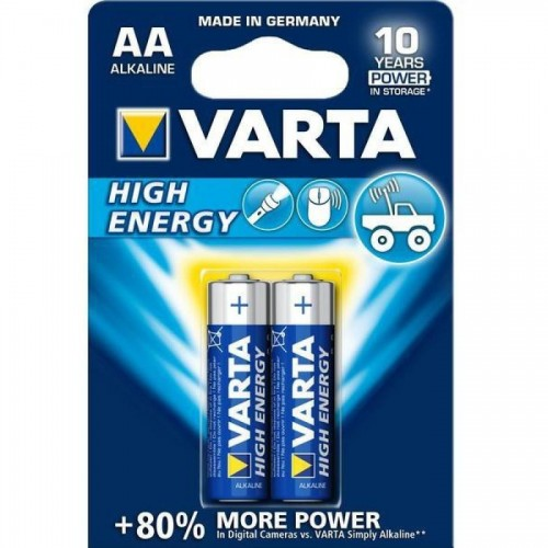 Батарейки Varta High Energy Mignon AA/LR6, 2 шт/уп