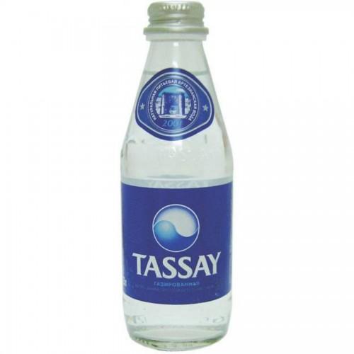 Минеральная вода TASSAY с газом, 0,25л, стекло
