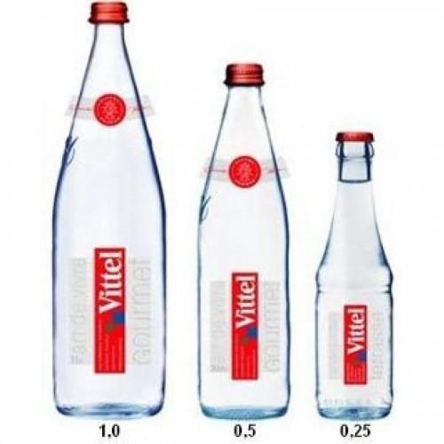 Минеральная вода Vittel без газа, 0,25л., стекло