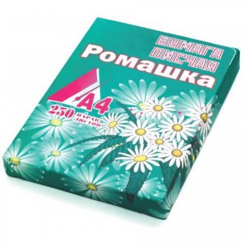 Бумага писчая Ромашка, А4, 250л, 1 кг