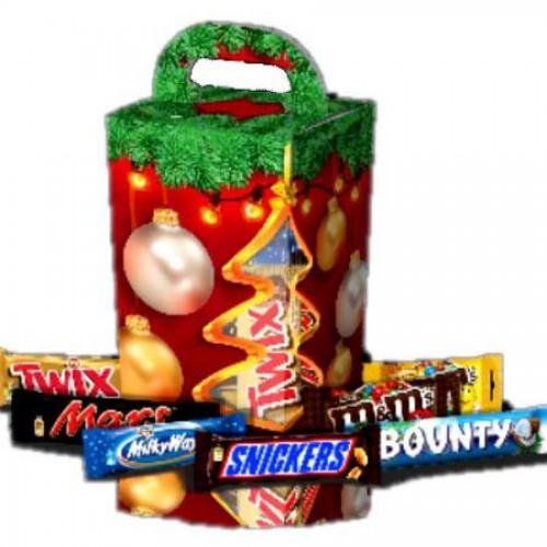 Подарок новогодний Mars, маленькая коробка, 458 гр