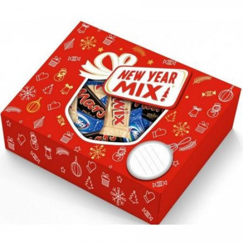 Подарок новогодний Mars Mix, 195 гр