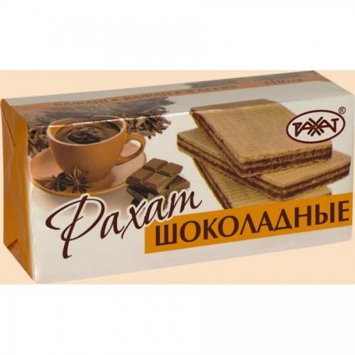 """Вафли Рахат """"Шоколадные"""" в пачке, 110 гр"""