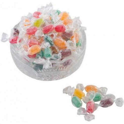 Кондитерские изделия Баян Сулу конфеты мини-карамель леденцовая BS Fruit, ассорти