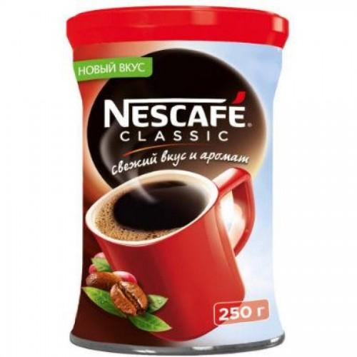 Кофе Nescafe Classic 250 г, жестяная банка