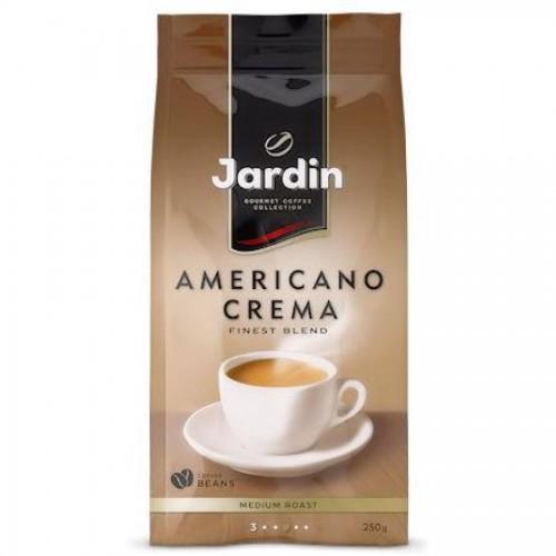 Кофе в зернах Jardin Americano Crema, 250 гр, вакуумная упаковка
