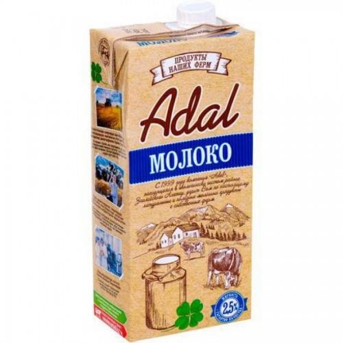 Молоко Adal 2,5% жирности, 0,95 л