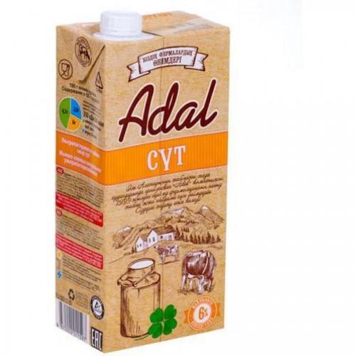 Молоко Adal 6% жирности, 0,95 л