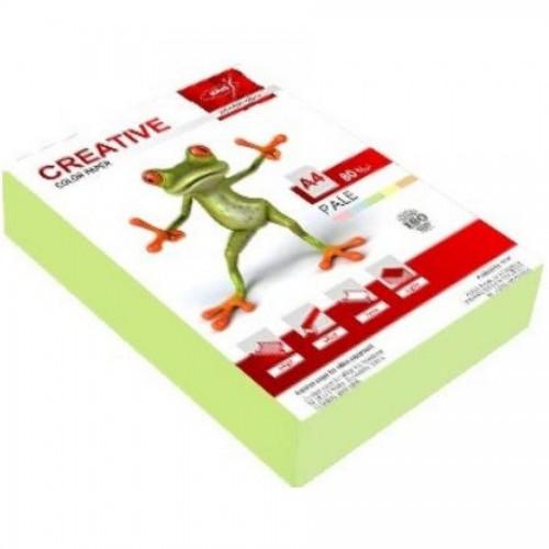 Бумага KRIS Пастель 80гр, А4, 500л, зеленый