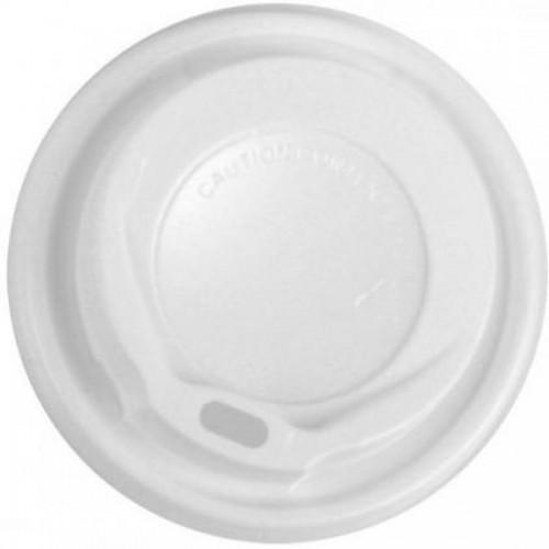 Крышка пластмассовая для однораз. стаканов, 12oz 100шт (FE60120)