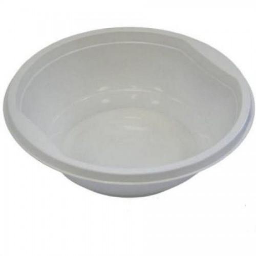Тарелка одноразовая суповая, Мистерия, d15см., 0,475л, 50 шт/упак., белый