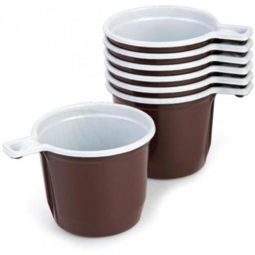 Чашка кофейная одноразовая, 180мл, 50 шт/уп