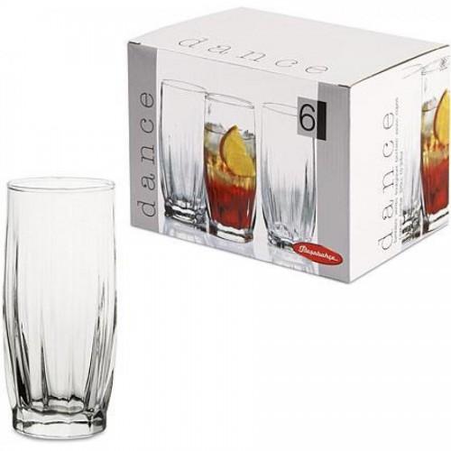 Стакан для воды, сока Dance, 320 мл, высокий, 6 шт/упак (PSB 42868)