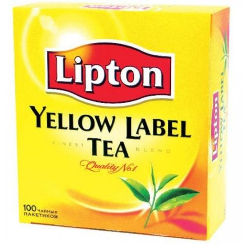 Чай черный Lipton , 100 х 2 г, в пакетиках