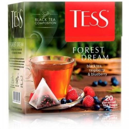 Чай черный Tess Forest Dream, 20 х 1,8 г, пирамидки