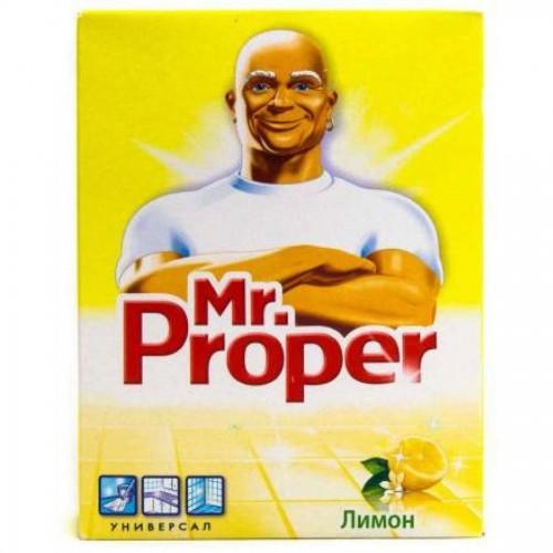 Чистящий порошок Мистер Пропер, с лимоном, 400 гр.