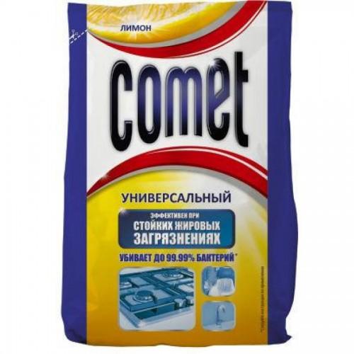 Средство чистящее Comet в пакетиках, 400г, лимон