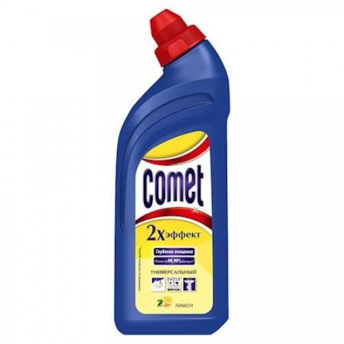 Средство чистящее для кухни Comet гель, 500мл, лимон