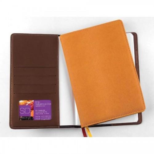 Ежедневник недатированный Executive Agenda, А5, коричневый