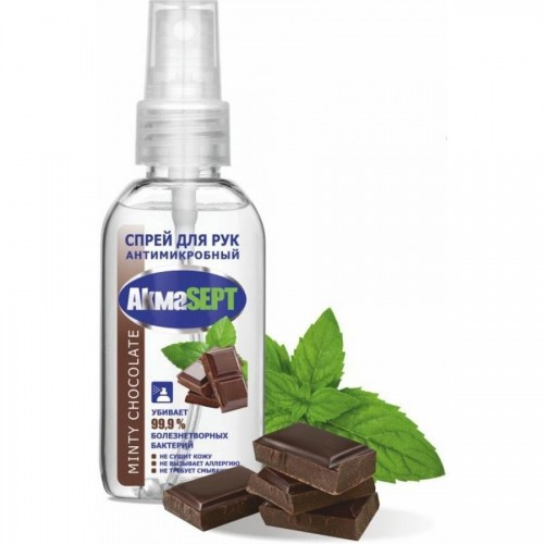 Антисептик для рук АКМАСЕПТ Minty chocolate, спрей, 50 мл