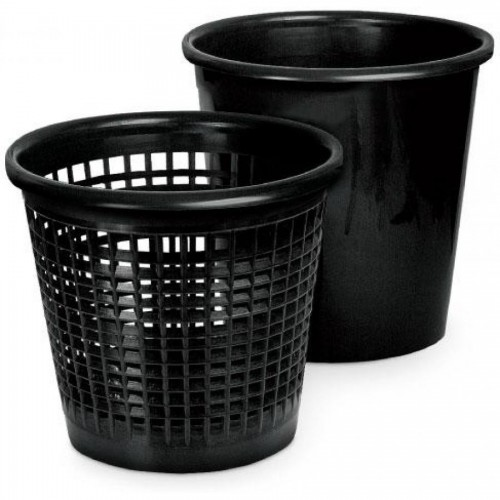 Корзина для мусора 12,5л сетчатая, черный