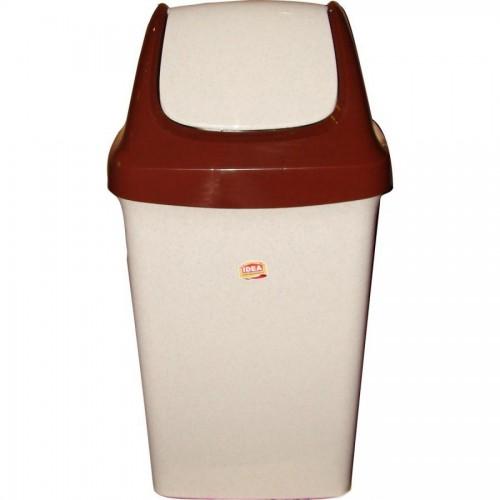 Бак для мусора с плав. крышкой Свинг, 25 л. (М2463)