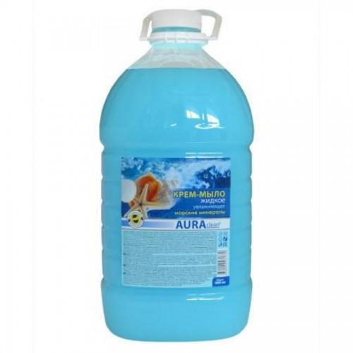 Мыло жидкое Аура, бидон, 5 л, морские минералы