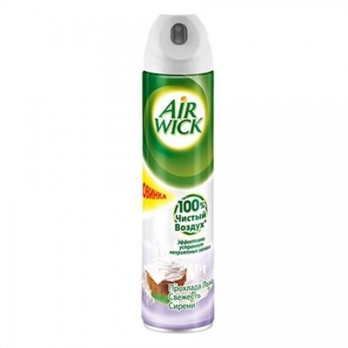 Освежитель воздуха Air WICK Прохлада льна и свежесть сирени, 240 мл