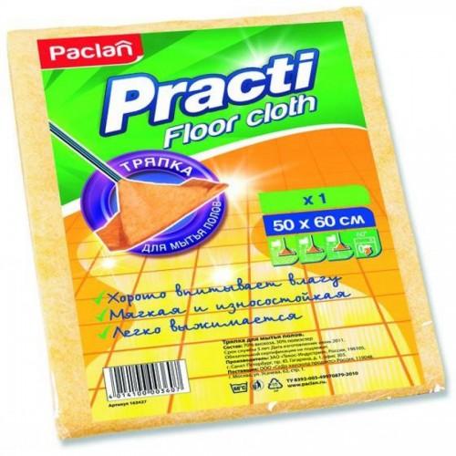 Тряпка для пола из вискозы Paclan Practi, 50х60 см, 1 шт/уп