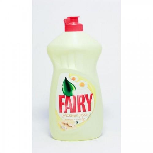 Средство для мытья посуды Fairy Нежные ручки Ромашка и витамин Е, 450 мл