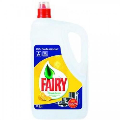 Средство для мытья посуды Фэри Лимон, 5 л