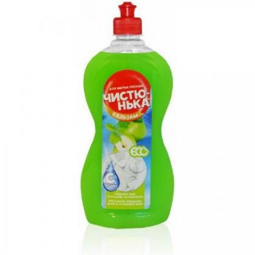 Средство для мытья посуды Чистюнька Зеленое яблоко и мята, 500 мл
