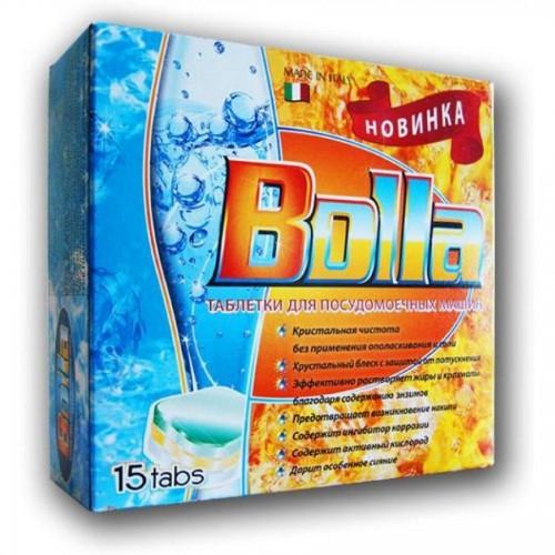 Таблетки для посудомоечных машин BOLLA, 15 шт/упак