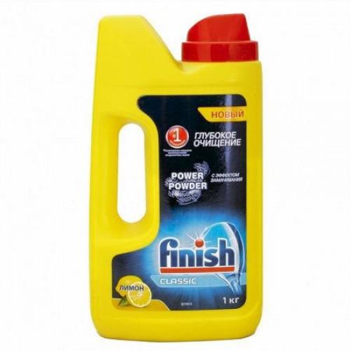 Моющее средство для посудомоечных машин Finish, 1кг, лимон