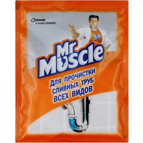 Средство для прочистки труб Мистер Мускул, гранулы, 70 гр.