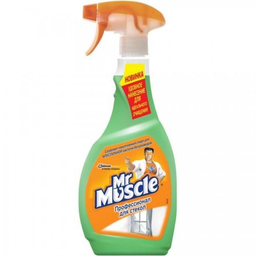 Средство для чистки стекол Мистер Мускул, 500мл