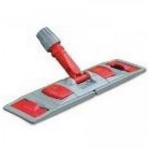 Держатель для мопа, PP, металлопластик, 40см, серый/красный (FE30002)