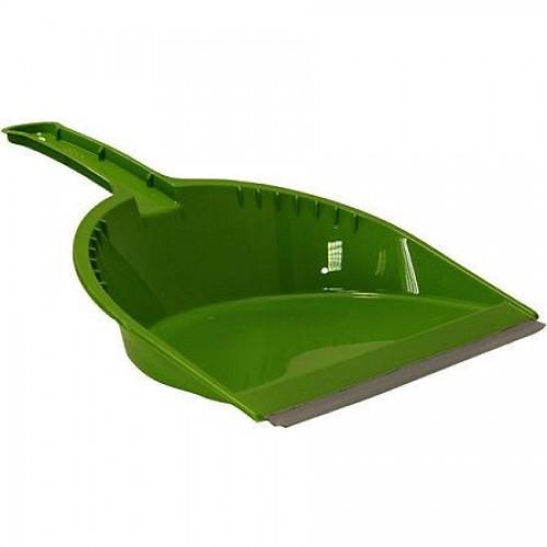 Совок для мусора Стандарт Микс с резинкой, пластик (5191М)