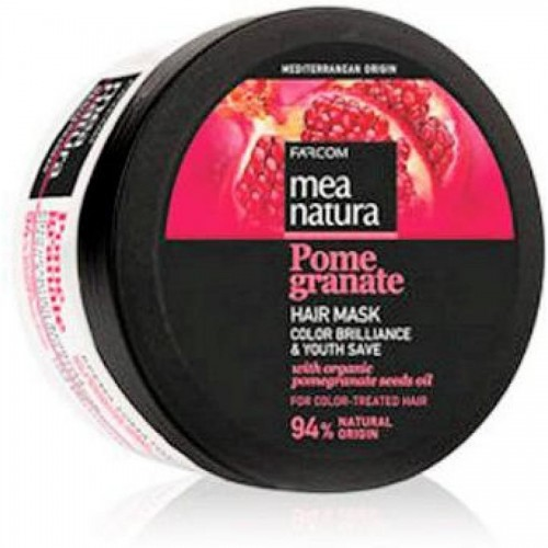 Маска MEA NATURA POMEGRANATE для всех типов волос, 250 мл.