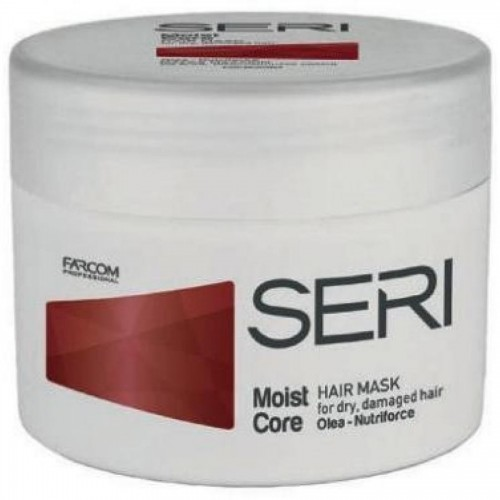 Маска SERI Moist Core увлажняющая для сухих волос, 300 мл.