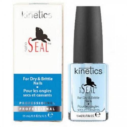 Уход за ногтями, набор витаминов A, E, B5, C - K-Nano Seal Nail Treatment, 15 мл (KTR03N), Kinetics