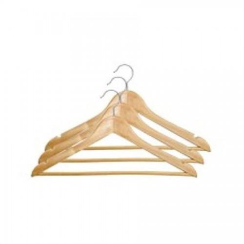 Вешалка деревянная TZLine, натуральный