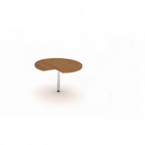 Стол приставной сер. Manager UMR 1000*705, орех