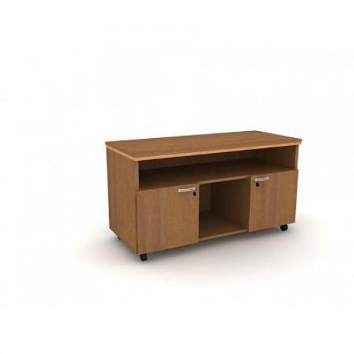 Стол боковой сер. Manager UMS 1200x500x650, орех