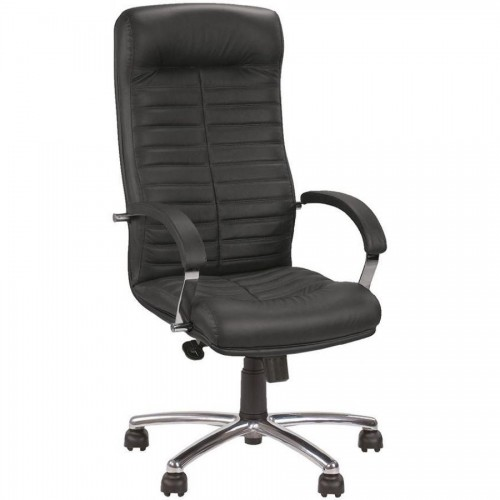 Кресло для руководителя ORION STEEL CHROME LE-A, черный