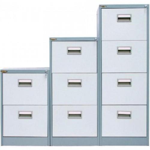 Картотечный шкаф President FC03, 3 ящ, серый