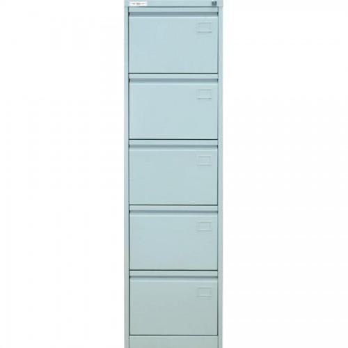 Шкаф картотечный КР-5, 1645х465х630мм, 5 секций, серый