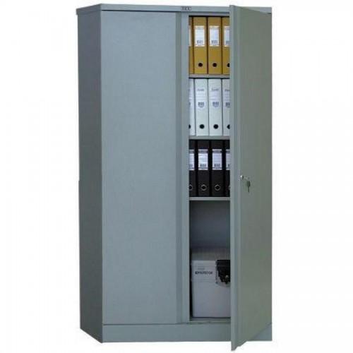 Шкаф металлический Практик АМ1891, 1830х915х458мм, 4 полки, серый